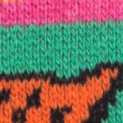Gucci Multicolor Wool Tiger Snake Striped Jumper S