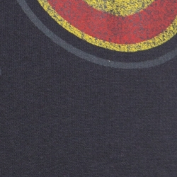 Gucci Charcoal Grey Cotton Worn In Effect Black Cat T-shirt L
