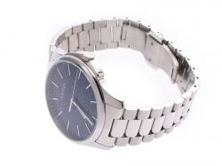 Gucci Navy Stainless Steel G Timeless 126.3 Men's Wristwatch 39MM