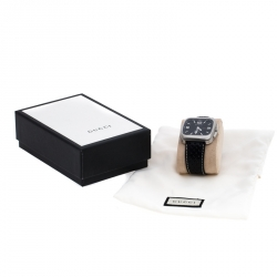 Gucci Black Stainless Steel G Coupe 131.3 Men's Wristwatch 40MM