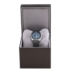 Gucci Black Stainless Steel Dive 136.3 Men's Wristwatch 40 mm