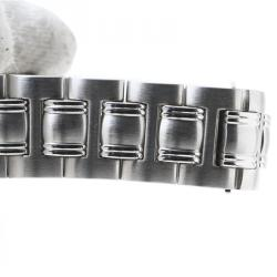 Gucci Black Stainless Steel 9040M Men's Wristwatch 34 mm
