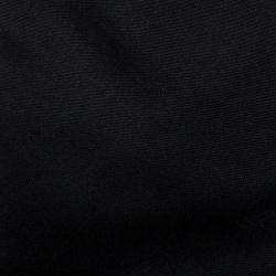 Hermes Vintage Black Silk Tie