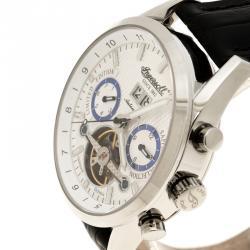 Ingersoll White Stainless Steel Limited Edition Brandenburger Gate Men's Wristwatch 44MM