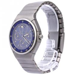 IWC Blue Titanium Porsche Design Men's Wristwatch 36MM