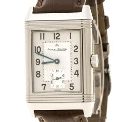 Jaeger-LeCoultre Silver Grey Stainless Steel Reverso GT 270.8.62 Men's Wristwatch 26 mm