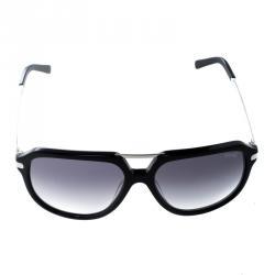 Korloff Black Gradient KOR2035 Aviator Sunglasses
