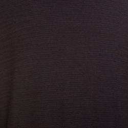 Louis Vuitton Brown and Blue Jacquard Epi Crew Neck Sweater L