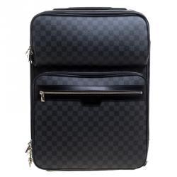 c5b7b41b554b Louis Vuitton Damier Graphite Canvas Pegase Legere Business Suitcase 55