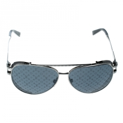 0d6a7d9e15 Louis Vuitton Silver  Grey Z0982W Skyline Glacier Aviator Sunglasses