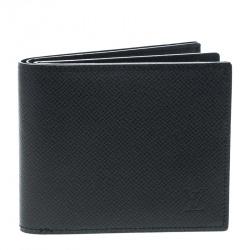 Louis Vuitton Black Taiga Leather Multiple Wallet