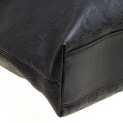 Louis Vuitton Black Damier Infini Leather Daily Bag