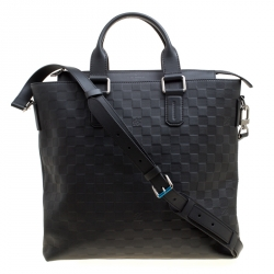 22ffb36efd8c Louis Vuitton Black Damier Infini Leather Daily Bag