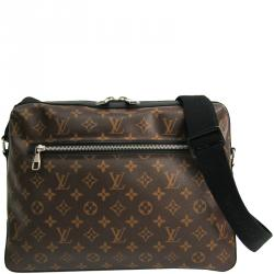 official store yet not vulgar quite nice Louis Vuitton Monogram Macassar Canvas Torres Messenger Bag