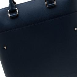 Louis Vuitton Blue Taiga Leather Grigori Bag