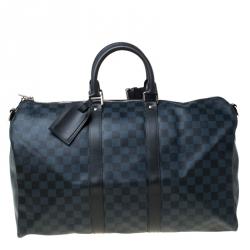 Louis Vuitton Damier Graphite Canvas Keepall Bandouliere 45