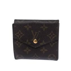 Louis Vuitton Monogram Canvas Vintage Flap Compact Wallet
