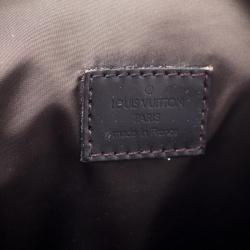 Louis Vuitton Black Damier Geant Canvas Messenger Bag