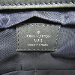 Louis Vuitton Navy Leather Messenger Bag