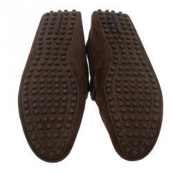 Louis Vuitton Tri Color Suede Hockenheim Loafers Size 39.5