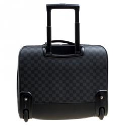 Louis Vuitton Damier Graphite Canvas Pilot Case Luggage