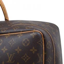 Louis Vuitton Monogram Canvas and Leather Sirius Soft Suitcase 50