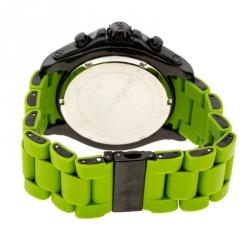 Michael Kors Black PVD Coated Stainless Steel MK8235 Men's Wristwatch 48 mm