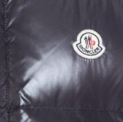 Moncler Grey Down Convertible Hooded Puffer Jacket / Vest XXL