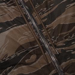 Moncler Olive Green Nylon Reversible Gobert Jacket M