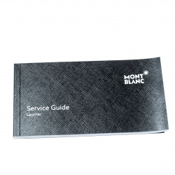 Montblanc Grey Leather Extreme Business Card Holder