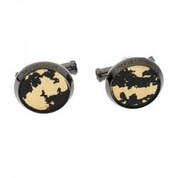 Montblanc Sartorial Black Stainless Steel Cufflinks