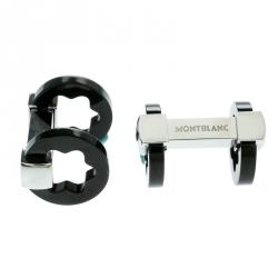 Montblanc Heritage Gunmetal Tone Stainless Steel Cufflinks