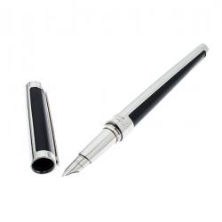 S.T. Dupont Black Resin Palladium Defi 400674 Fountain Pen