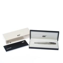 Montblanc Meisterstuck LeGrand Solitaire Silver Barley Fountain Pen