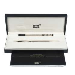 قلم خط رفيع مون بلان لونين نمط منقوش دو ستارولكر