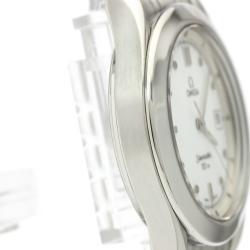 Omega White Stainless Steel Seamaster 120M 2511.20 Men's Wristwatch 36 MM