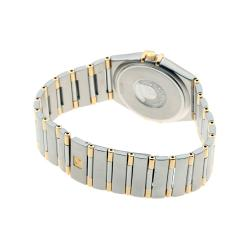 Omega Gold 18K Yellow Gold Stainless Steel Constellation 396.1201 Men's Wristwatch 33MM