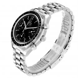 Omega Black Stainless Steel Speedmaster Automatic 3510.50.00 Men's Wristwatch 39 MM