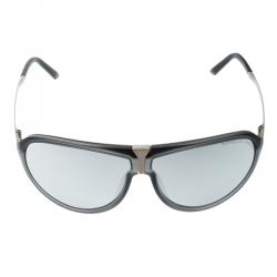 99b74b779 نظارة شمسية أفياتورز بورش ديزاين P86BF فضية/رصاصية