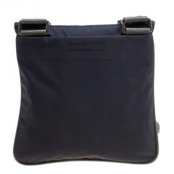 Prada Sport Dark Blue Nylon Crossbody Bag