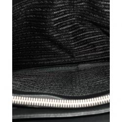 Prada Black Leather Laptop Bag