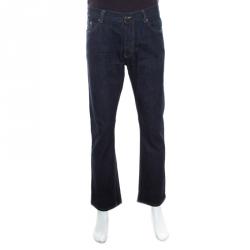 5921e1f522bd Prada Indigo Dark Wash Classic Fit Denim Jeans XL