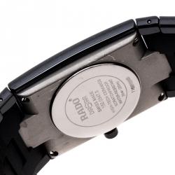 Rado Black Ceramica R21347222 Men's Wristwatch 27 mm