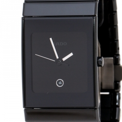 Rado Black Ceramica R21347222 Men's Wristwatch 27 mm