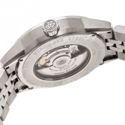 Raymond Weil Black Stainless Steel Freelancer 2720ST20021 Men's Wristwatch 42MM