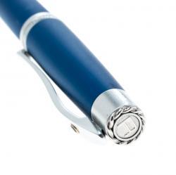 Roberge Orbite 2 Blue Aluminium Crystal Rollerball Pen