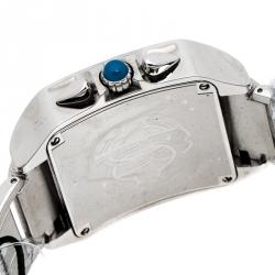Roberto Cavalli Blue Stainless Steel Venom Men's Wristwatch 39 MM