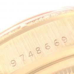 Rolex Champagne Diamonds 18k Yellow Gold President Day-Date 18078 Men's Wristwatch 36 MM