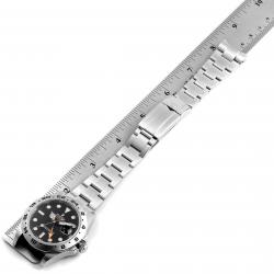 Rolex Black Stainless Steel Explorer II 216570 Men's Wristwatch 42 MM