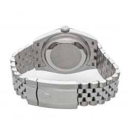 Rolex Blue Stainless Steel Datejust 126200 Men's Wristwatch 36 MM